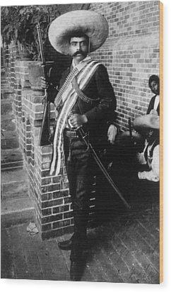 Emiliano Zapata Ca. 1879-1919, Mexican Wood Print by Everett