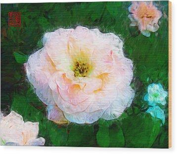 Emily's Rose Wood Print
