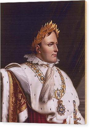 Emperor Napoleon Bonaparte  Wood Print by War Is Hell Store