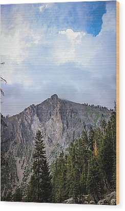 Empire Mountain, Sequoia National Forest Wood Print