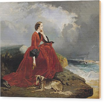 Empress Eugenie Wood Print by E Defonds
