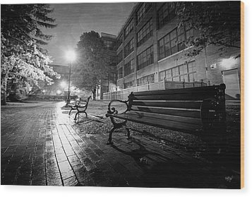 Wood Print featuring the photograph Emptiness by Everet Regal