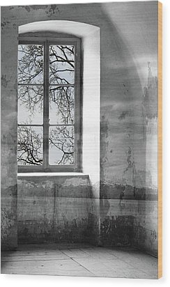 Wood Print featuring the photograph Emptiness by Munir Alawi