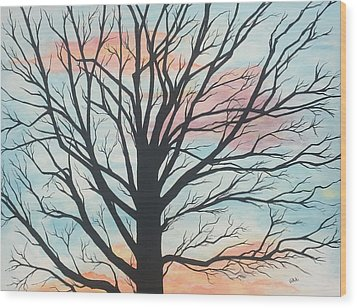 Empty Beauty Wood Print