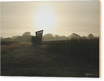 Empty Bin Wood Print