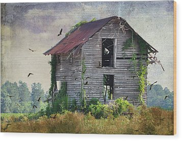 Empty Spaces Wood Print by Jan Amiss Photography