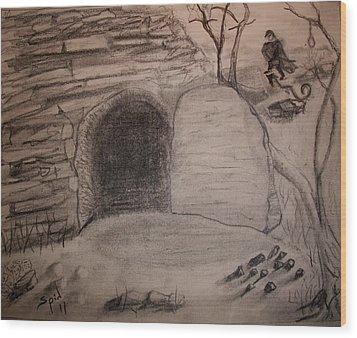 Empty Tomb Wood Print by Spencer  Joyner