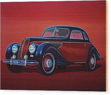 Emw Bmw 1951 Painting Wood Print by Paul Meijering