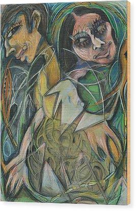 Enabling Wood Print by Michelle Spiziri