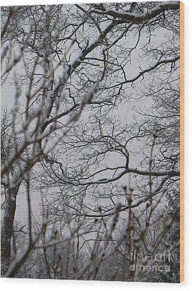 Enchanted Wood Print by Roxy Riou