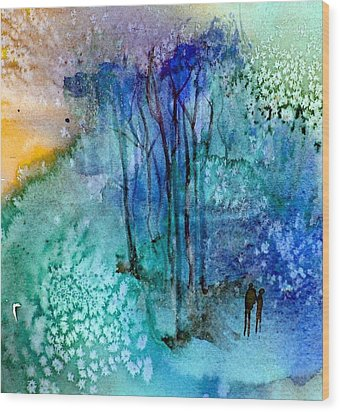 Enchantment Wood Print by Anne Duke