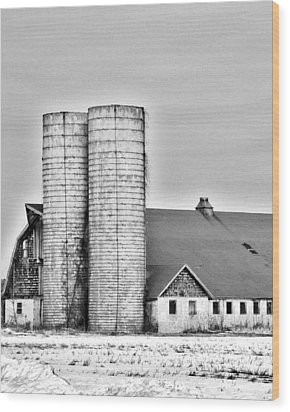 End Of An Era Wood Print