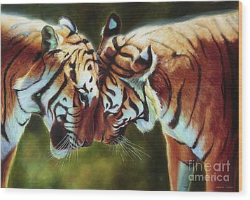 Endangered Moments Wood Print