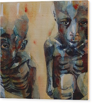 Endangered Spieces Wood Print by Paul Lovering