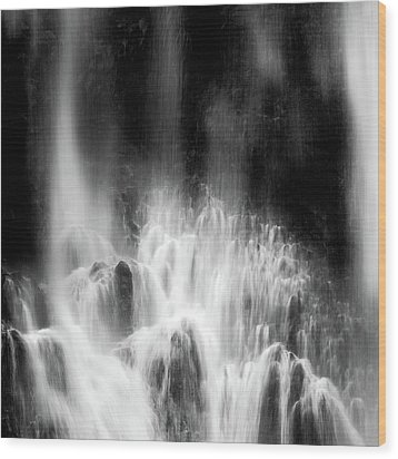 Endless Falls #1 Wood Print by Francesco Emanuele Carucci