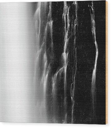 Endless Falls #2 Wood Print by Francesco Emanuele Carucci