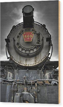 Engine 460 Front And Center Wood Print by Scott Wyatt