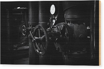 Wood Print featuring the photograph Engine Room by Tim Nichols