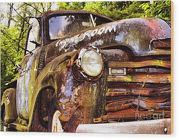 Engine Room Wood Print by Tom Griffithe