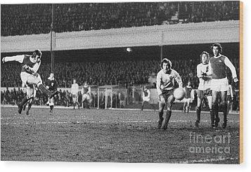 England: Soccer Game, 1972 Wood Print by Granger