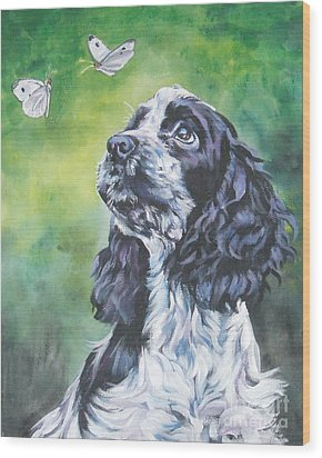 English Cocker Spaniel  Wood Print