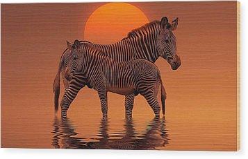 Enjoy Life Wood Print