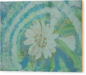 Enlightened Wood Print by Anne-Elizabeth Whiteway