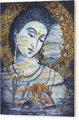 Enlightened  Wood Print