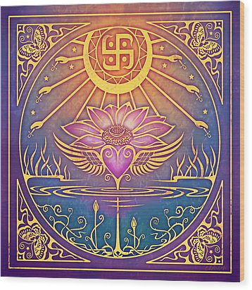Enlightenment Wood Print by Cristina McAllister