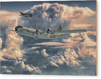 Enola Gay Wood Print by Dave Luebbert