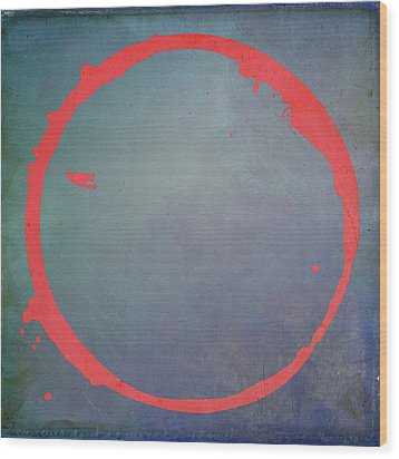 Wood Print featuring the digital art Enso 2017-1 by Julie Niemela