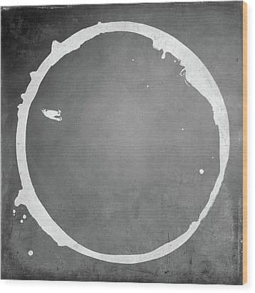 Wood Print featuring the digital art Enso 2017-16 by Julie Niemela