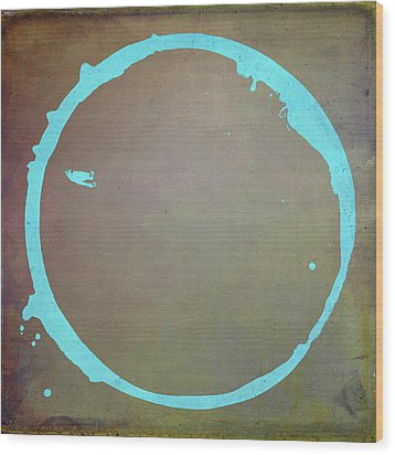 Wood Print featuring the digital art Enso 2017-2 by Julie Niemela