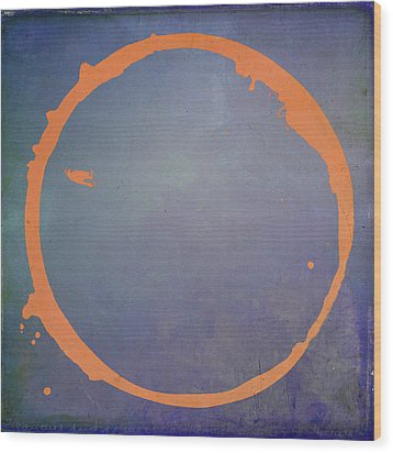 Wood Print featuring the digital art Enso 2017-3 by Julie Niemela