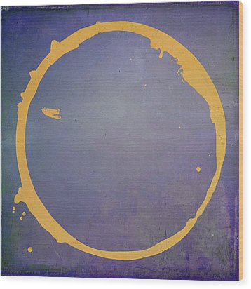 Wood Print featuring the digital art Enso 2017-4 by Julie Niemela