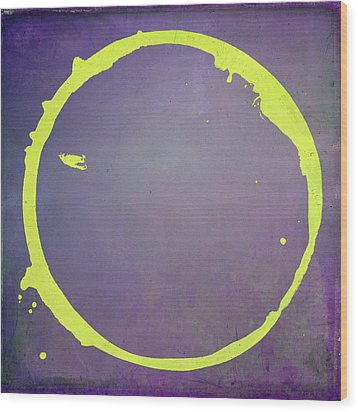 Wood Print featuring the digital art Enso 2017-5 by Julie Niemela