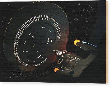 Wood Print featuring the photograph Enterprise by Kristin Elmquist
