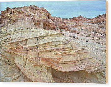 Wood Print featuring the photograph Entrance To Wash 3 In Valley Of Fire by Ray Mathis