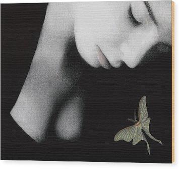 Ephemeral Wood Print by Pat Erickson
