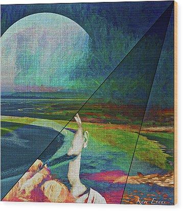 Ephemere Wood Print