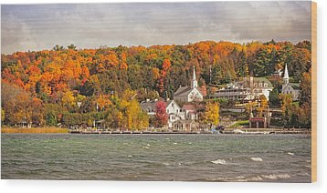 Wood Print featuring the photograph Ephraim Wisconsin In Door County by Heidi Hermes