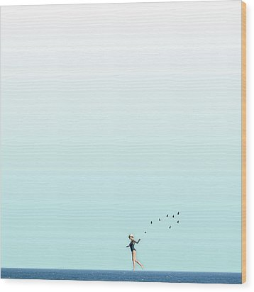 Equilibrio  Wood Print