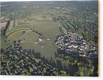 Erdenheim Farm 5051 Flourtown Road Lafayette Hill Pa 19444 1009 Wood Print by Duncan Pearson