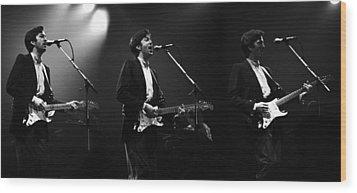 Eric Clapton  Wood Print