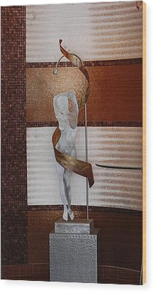 Erotic Museum Piece Wood Print by Rob Hans