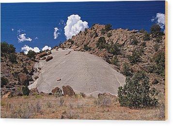 Escalante Mound Wood Print