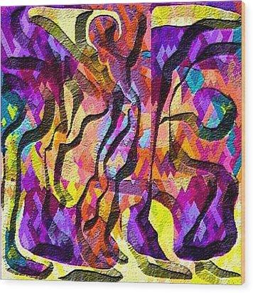 Escape Wood Print by Carola Ann-Margret Forsberg