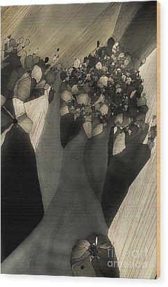 Escape Wood Print by Olimpia - Hinamatsuri Barbu