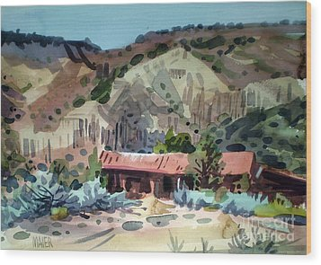 Espanola On The Rio Grande Wood Print by Donald Maier