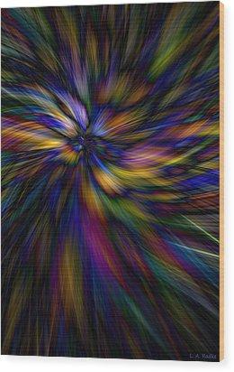 Essence Wood Print by Lauren Radke